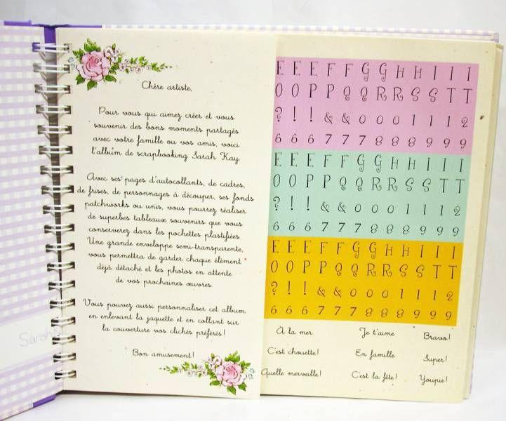 Sarah Kay - Album de souvenirs Scrapbooking - Editions Hemma