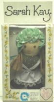 Sarah Kay - Mint in box 5\'\' mini stuffed doll (green dress)