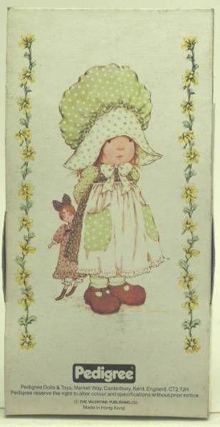 Sarah Kay - Mint in box 5\\\'\\\' mini stuffed doll (green dress)