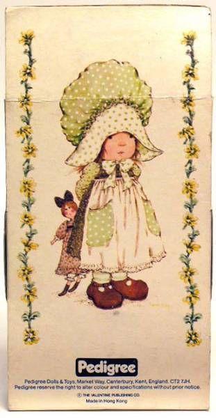 Sarah Kay - Mint in box 5\'\' mini stuffed doll (white dress)