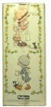 Sarah Kay  Mint in box 10\'\' stuffed doll (glasses & red dress)