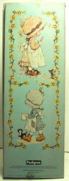 Sarah Kay  Mint in box 20\'\' stuffed & plastic doll (brown dress)
