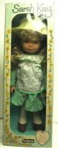 Sarah Kay  Mint in box 20\'\' stuffed & plastic doll (green dress)