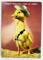 Saturnin - Yvon Post Card (1968) - #77 Sheriff Saturnin