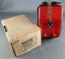 Scalextric - Transformateur Redresseur Type SF 08 U 110/200V 12V 10W Neuf Boite