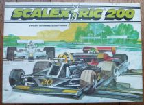Scalextric 200 C-752 - Coffret Circuit GP 2 Voitures Wolfs Transfo Poignées Piste