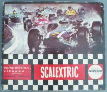 Scalextric 30LT  - Coffret Circuit avec Matra 670 C102 & Alfa-Romeo C103 Transfo Poignées Pist