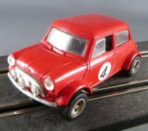 Scalextric C007 - Red Mini Cooper N° 4