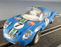 Scalextric C1 - Blue Alpine Renault # 7 Le Mans