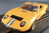 Scalextric C17 - Yellow Miura Lamborghini # 8