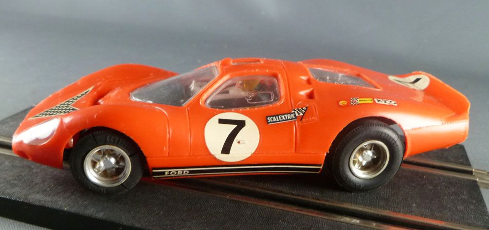 scalextric c18 orange ford 3l gt n 1 le mans. Black Bedroom Furniture Sets. Home Design Ideas