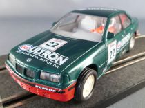Scalextric C251 - Bmw 318i Verte Ultron N°22 Eclairage Fonctionne