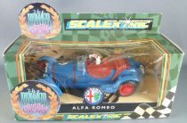 Scalextric C306 - Alfa Romeo 8C 2,3L Bleu N° 7 Neuf Boite The Power & The Glory
