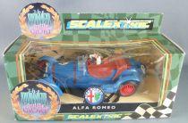 Scalextric C306 - Blue 2,3L Alfa Romeo 8C # 7 Mint in Box The Power & The Glory