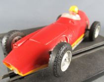 Scalextric C59 - BRM P25 Rouge Made in France Fonctionne