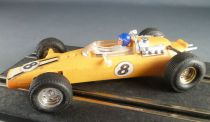 Scalextric C6 - Yellow Panther GP N° 8