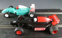 Scalextric C.840 - Boxed Monaco GP Set with F1 Navigo Simpson