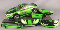 Scalextric SCX Tuning Séries 3 - Toyota Celica Green Lightning + Body Parts1 1:32 no Box