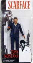 Scarface Tony Montana (Blue suit) - 7\'\' figure - Neca