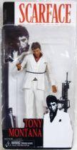 Scarface Tony Montana (White suit) - 7\'\' figure - Neca