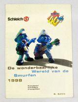Schleich Catalog 1998 - Smurfs (40th Ann.) De Wonderbaarlijke Wereld van de Smurfen 1998