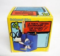 Schtroumpf Bureaux (Schlumpf Büro) - Schleich - 53104 Porte-Crayon Schtroumpf