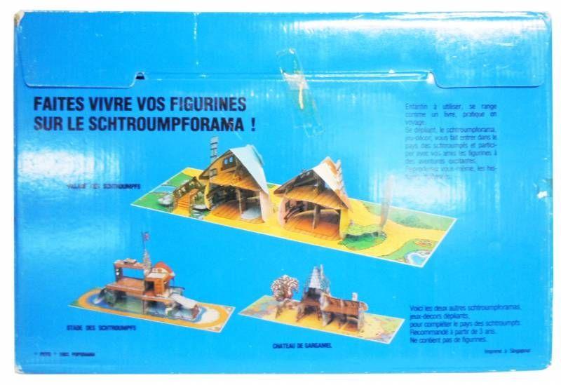 Schtroumpforama Jeu Décor Dépliant - Le Village des Schtroumpfs (neuf en boite)