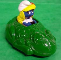 Schtroumpfs - Voiture métal Esci - Voiture grenouille de la Schtroumpfette (occasion)