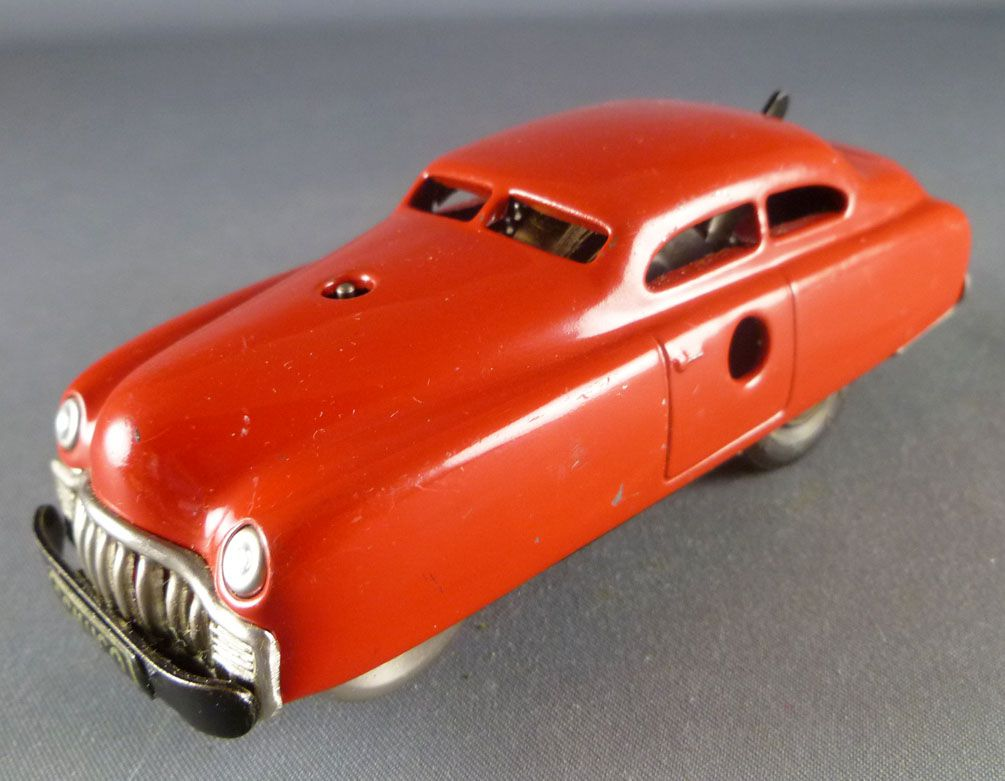 Schuco Varianto 3041 Limo Limousine Rouge Mécanique en Tole