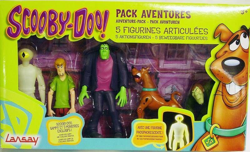 Scooby doo pack aventures sammy scooby doo et les monstres - Samy scoobidoo ...