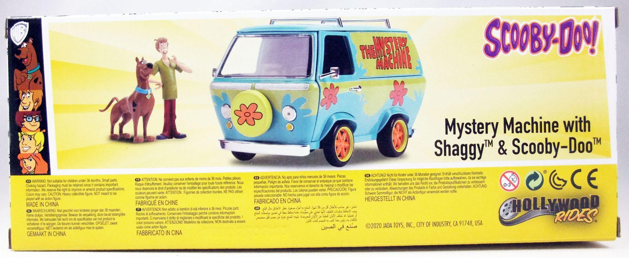 Scooby-Doo - Jada - 1:24 scale die-cast Mystery Machine with Shaggy & Scooby-Doo