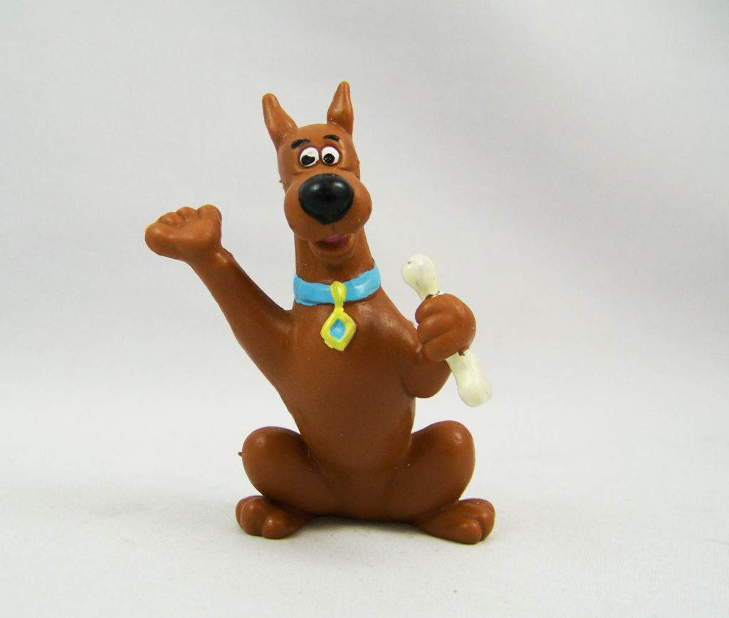 Scooby-Doo - Miniland PVC Figure - Scooby-Doo with bone