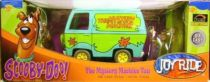 Scooby-Doo, Die Cast Mystery Machine scaled 1: 18 with 2 figures