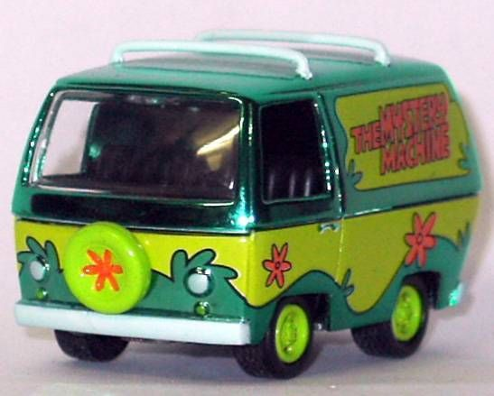 Scooby-Doo, Loose Die Cast Metalised Mystery Machine scaled 1: 64