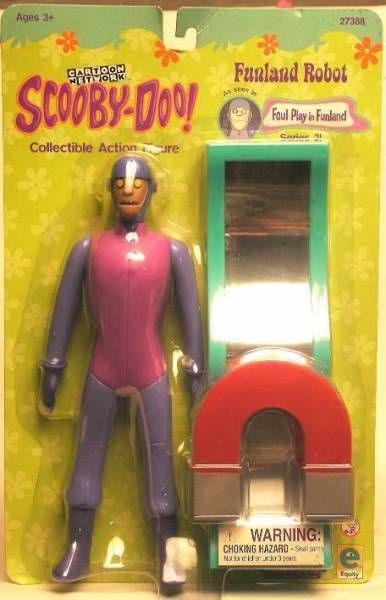 Scooby-Doo, Mint on Card Funland Robot