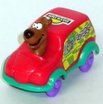 Scooby-Doo driving car, Days Inn Exclusiv