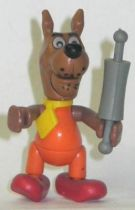 Scooby-Doo mini action figure with orange shirt