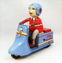 Scooter - Tin Toy Wind-Up - King Scooter (Ha Ha Toy)