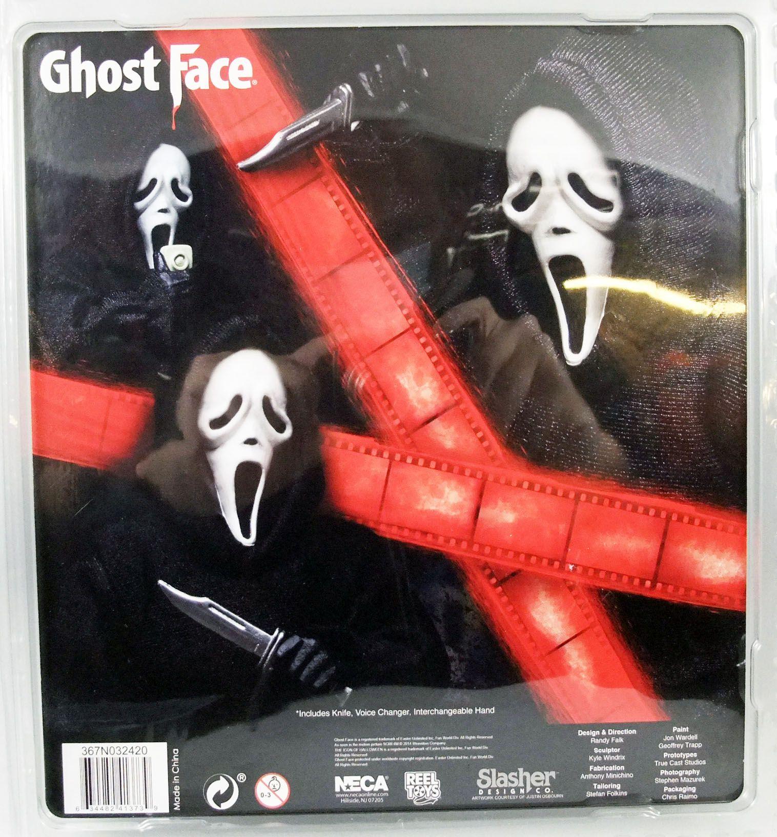 Scream - Ghostface - Figurine Retro 20cm NECA