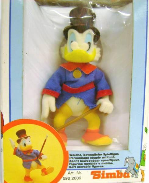 Scrooge - Flocked figures - Scrooge (Duck Tales)