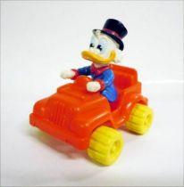 Scrooge - McDonald\'s Premium Figures 1986 - Scrooge in Jeep