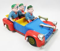 Scrooge - Polistil diecast vehicle - Beagle Boys car (loose)