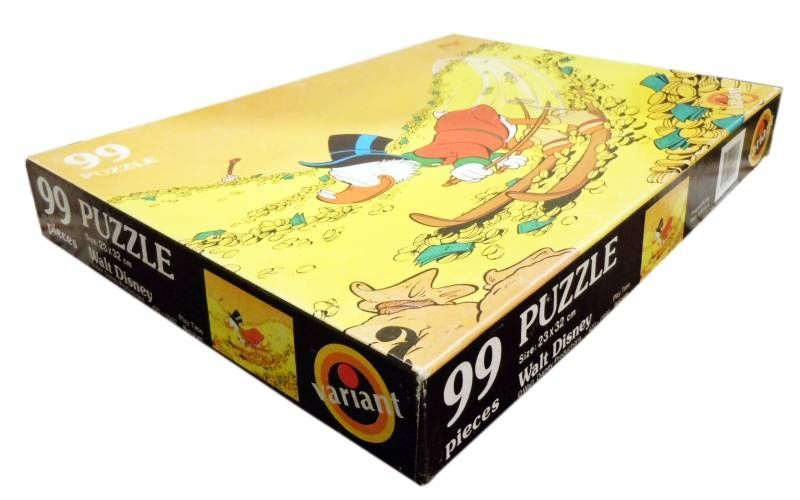 Scrooge - Puzzle 99 pieces - Scrooge skies on Gold (Variant / Play Time)