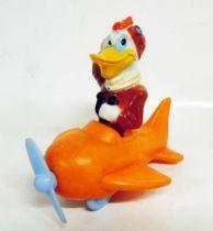 Scrooge - PVC figures - Launchpad McQuack in Plane