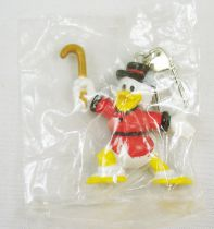 Scrooge - PVC mini figure Disney Club Vacances - Scrooge with key ring