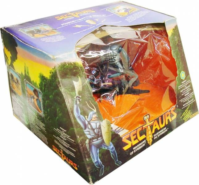 Sectaurs - Coleco - Pinsor & Battle Beetle