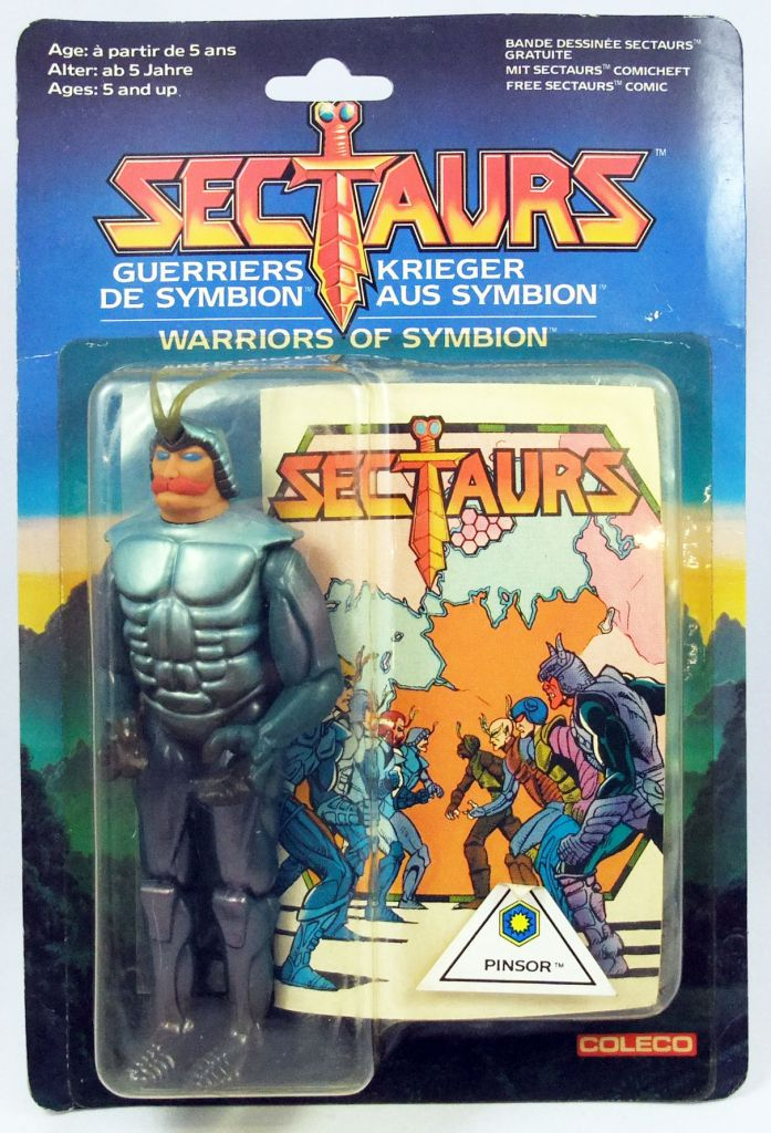 Sectaurs - Coleco - Pinsor