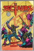 """Sectaurs Warriors of Symbion - Coleco - Mini-Comic \""""Waspax & Wingid\"""" (Français)"""