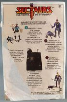 "Sectaurs Warriors of Symbion - Coleco - Mini-Comic \""Waspax & Wingid\"" (French language)"