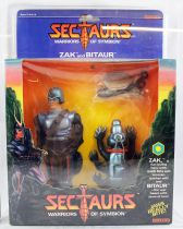 Sectaurs Warriors of Symbion - Coleco - Zak & Bitaur